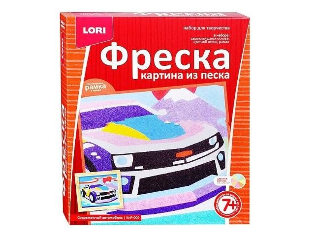 Фреска из песка Современный автомобиль Lori КпР-009
