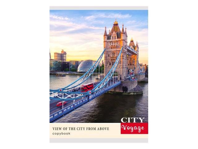 Тетрадь А4  96л Лондонский мост Prof Press 96-0548