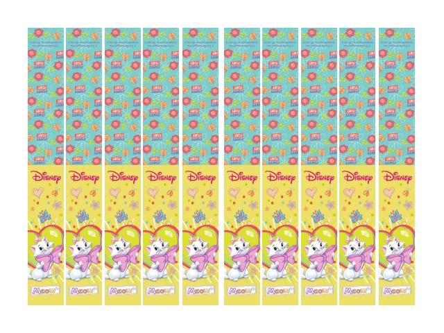 Закладка-магнит 10 шт. Дисней Кошечка Мари Prof Press 4-41-0007