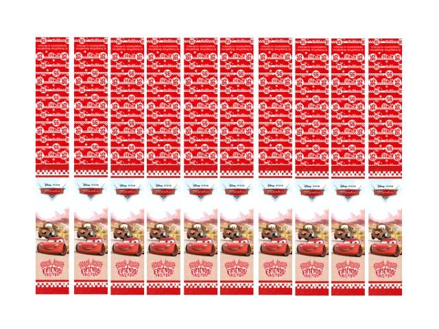 Закладка-магнит 10 шт. Дисней Тачки Prof Press 4-41-0001