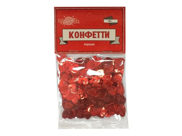 Декоративные элементы конфетти Сердца Hobberry ТХ-9182