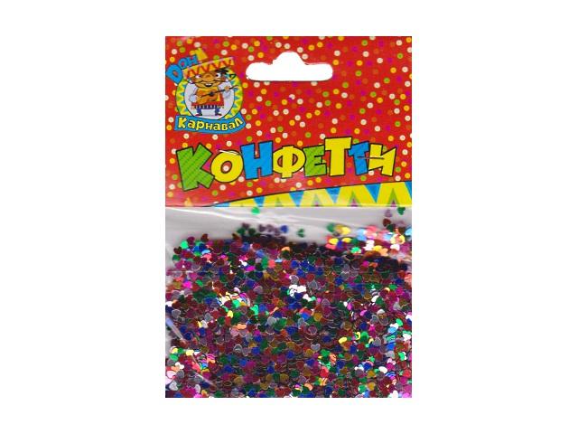Декоративные элементы конфетти Разноцветные сердца Miland К-1263