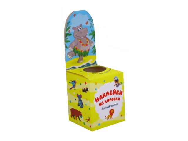 Наклейки из коробки Весёлый зоопарк Vladi Toys HG02-03