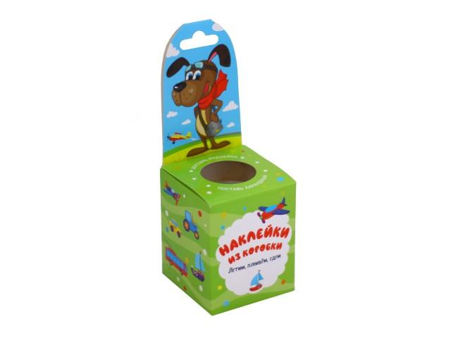 Наклейки из коробки Летим. плывём. едем Vladi Toys HG02-04