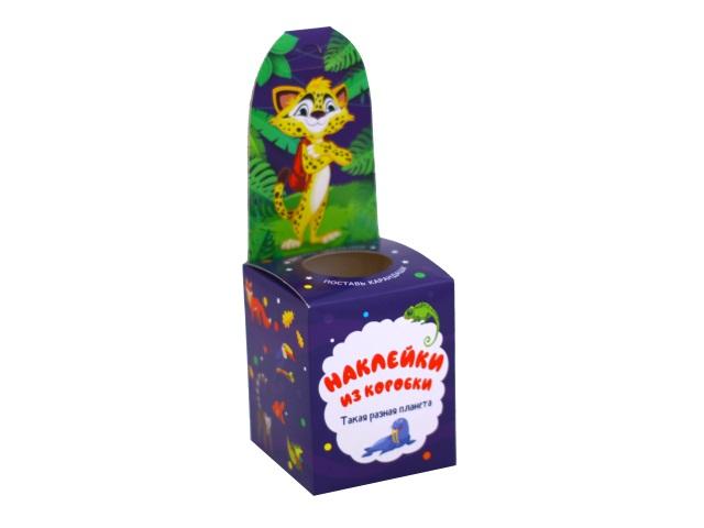 Наклейки из коробки Путешествие по свету Vladi Toys HG02-06