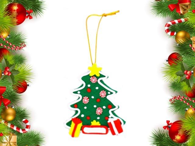 Ёлочная игрушка Елочка 8см Новогодняя сказка 973410