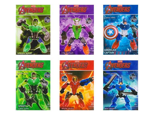 Конструктор  18 деталей Avengers YD-3