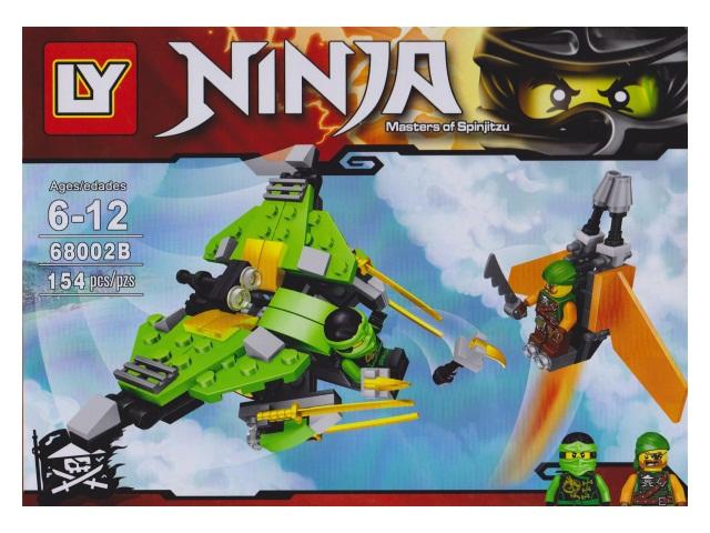 Конструктор 154-178 детали Ninja LY 68002