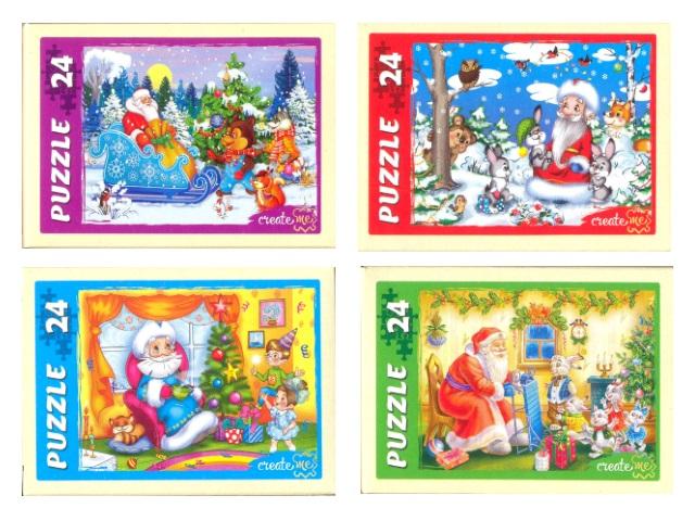 Пазлы   24 детали Любимый Дед Мороз П24-7744