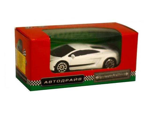 Машина инерционная  7 см Lamborghini Gallardo LP570-4 глянцевая Автодрайв И-1184