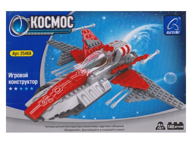 Конструктор 140 деталей Космос Ausini 35482