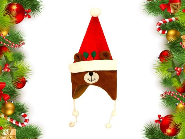 Колпак Новогодний детский Медведь J.Otten 6077