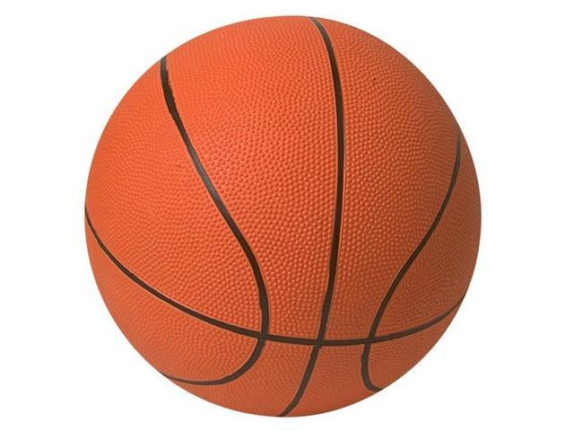 Мяч баскетбольный оранжевый ТР7501