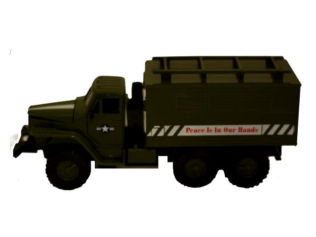 Машина на батарейках Дивизион-1 Т457-D4377