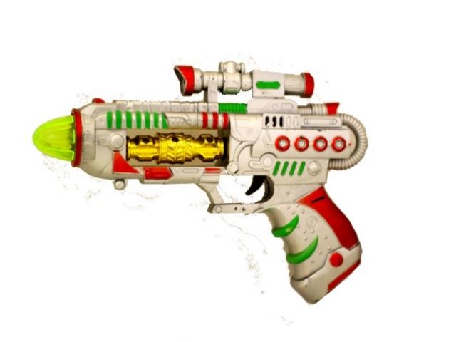 Пистолет на батарейках 25см Военный арсенал ИО-5021