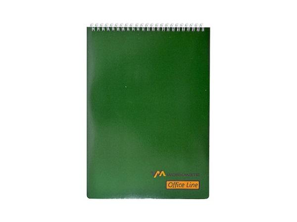 Блокнот А4  60л спираль м/обложка Office Line Workmate 001001904
