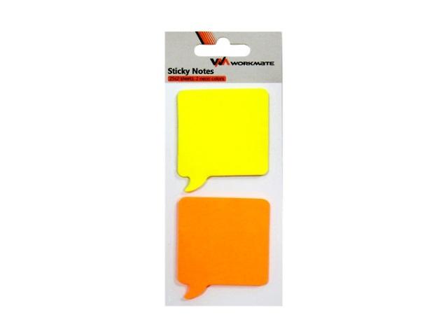 Стикер 50* 50мм  50л (2 блока по 25л) WM 003002000