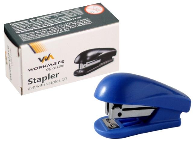 Степлер №10 10л WM пластик с антистеплером 075000800