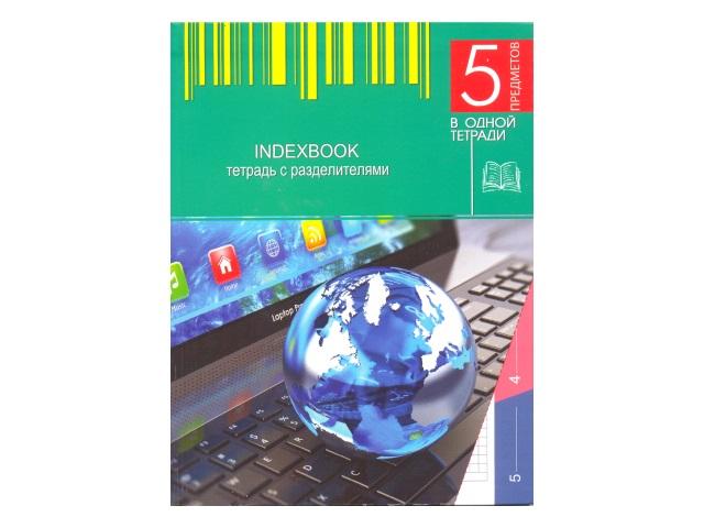 Тетрадь А5 5 разделов м/обложка 128л Ноутбук Plano С0274-31