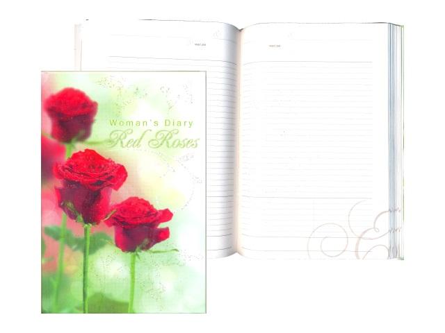 Ежедневник А5 тв/переплёт 152л Утренние розы Plano С0319-44