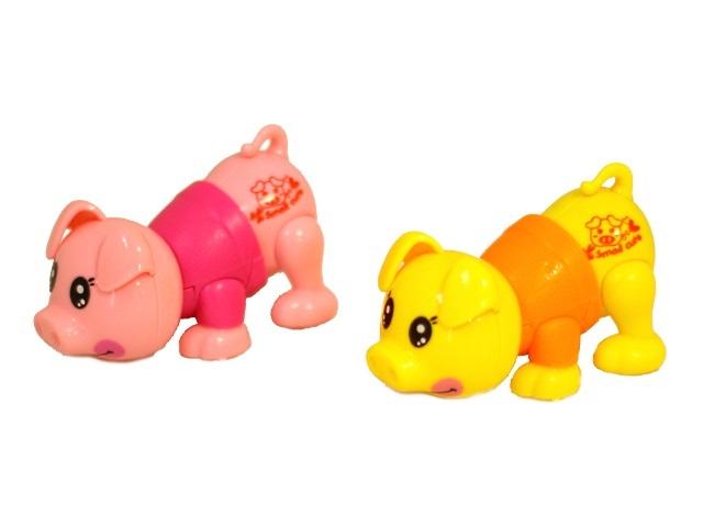 Заводная игрушка Свинка Funny Biggy 6615