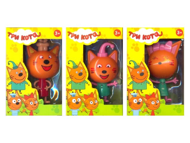Фигурка Три кота 11см М125