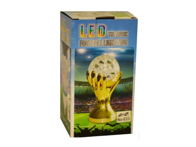 Лампа LED светильник-проектор Football настольный Е23