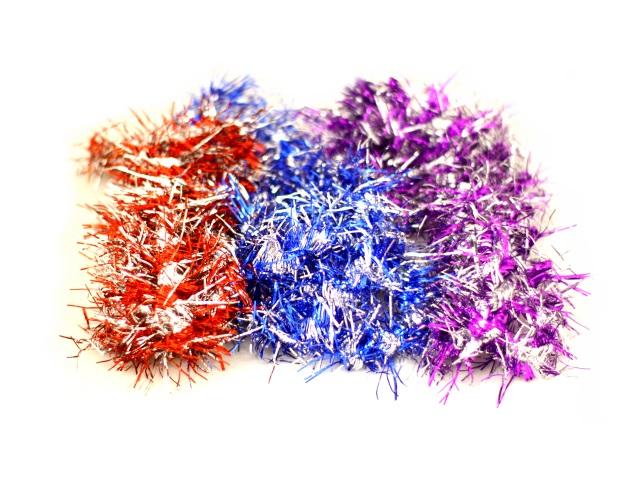 Мишура 200см D=5см крученая цветная