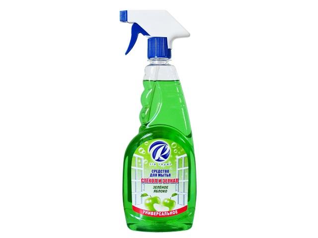 Моющее средство для стекол 750 мл Зеленое яблоко Rio Royal