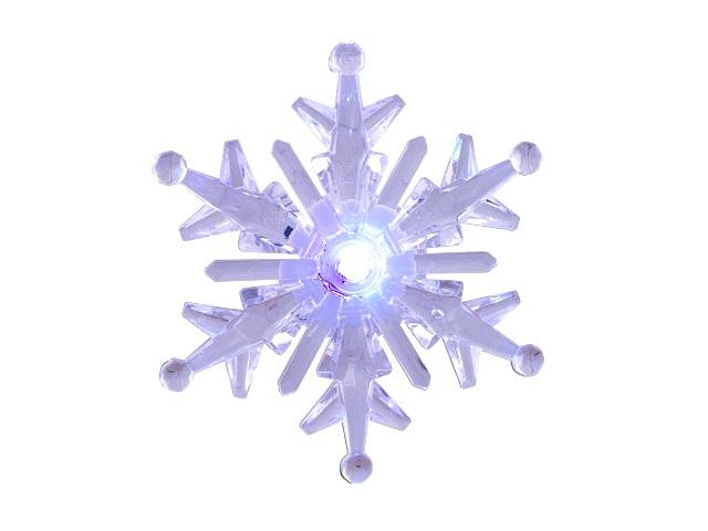 Светильник LED Снежинка №1-3 на присоске Старт NL