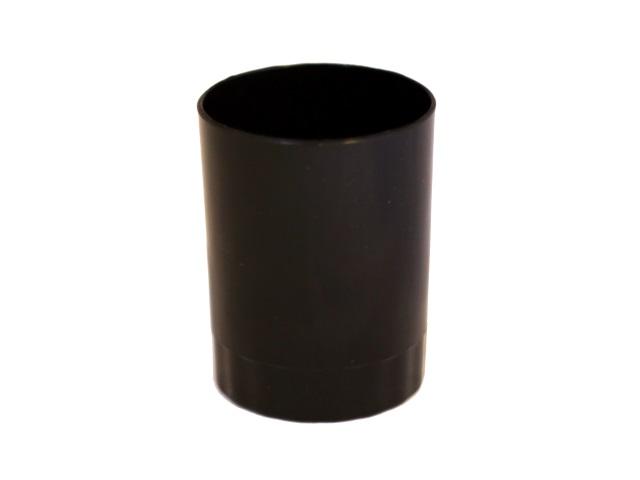Стакан для ручек пластик черный круглый WM 045000601