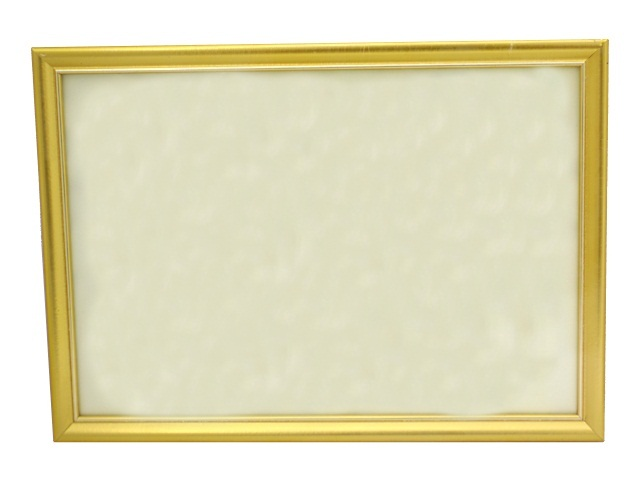 Фоторамка 30*40см золотая 890