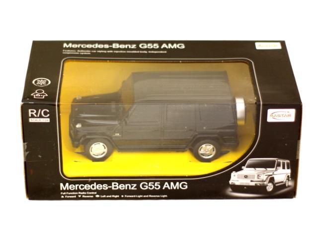 Машина на радиоуправлении Mercedes G55 AMG 20см Rastar 30500