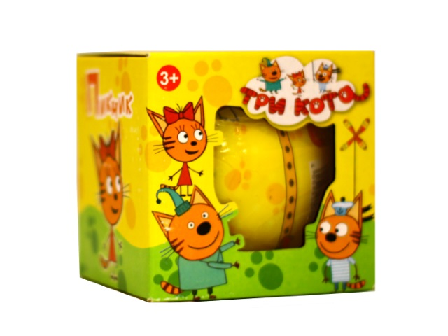 Фигурка в шаре Три кота Пикник