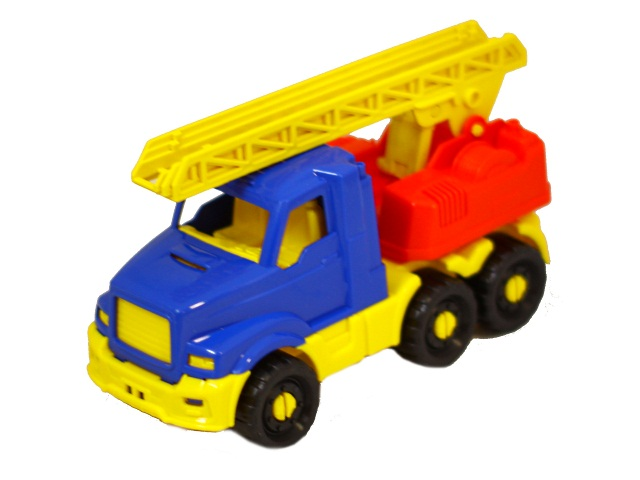 Пожарная машина Добрыня 20см Рыжий кот И-5187