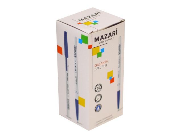 Ручка масляная Mazari Galanta синяя 0.7мм М-5900-70