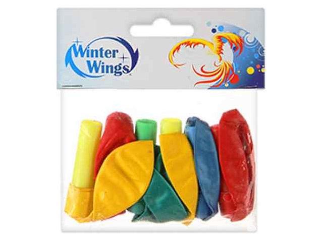 Свистки 6 шт. с шарами Winter Wings N08031