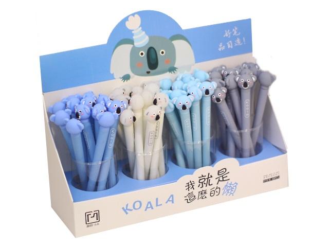 Ручка масляная детская Basir Коала синяя 1мм 17051