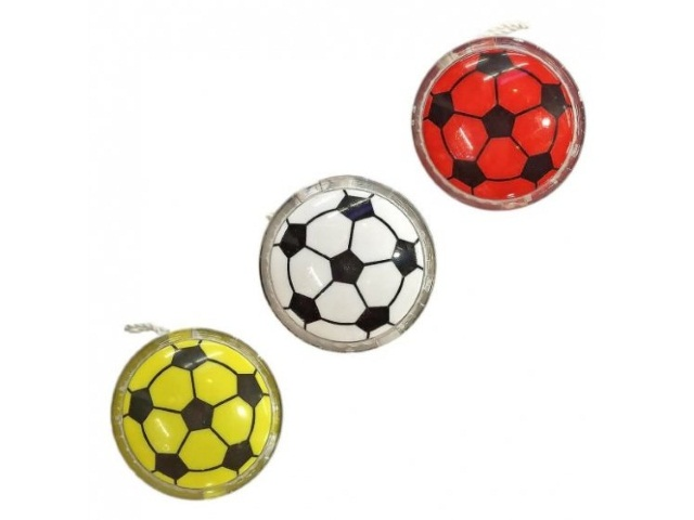 Йо-йо Мяч 6см светящийся 053