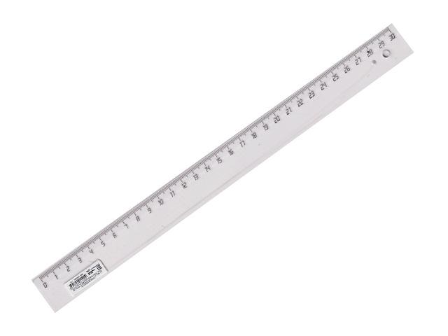 Линейка  30 см прозрачная WM 182001100