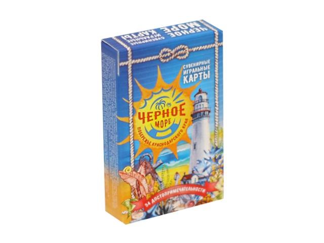 Карты игральные 54шт Черное море ИН-2498