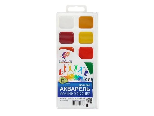 Краски 18 цветов акварель медовая Классика Луч 19С 1292-08