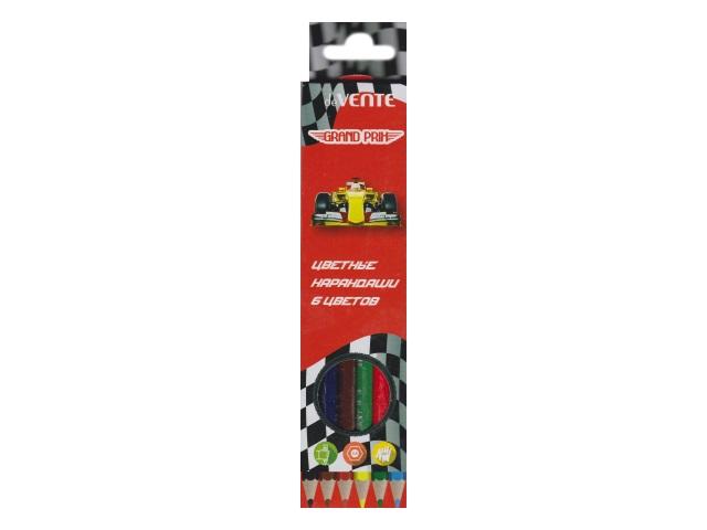 Карандаши цветные  6цв DeVente Grand Prix шестигранные 5021807