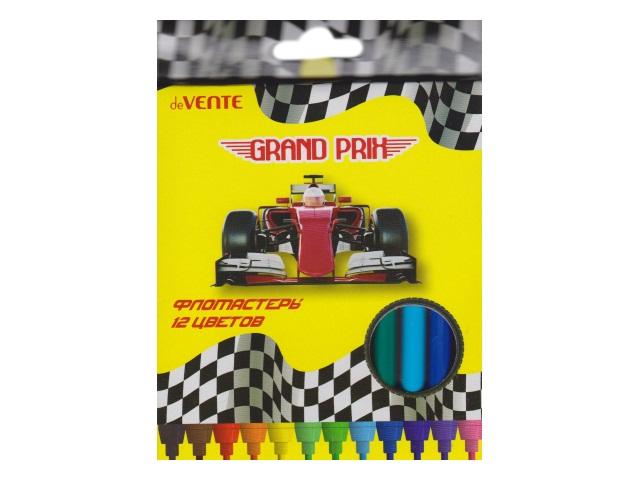 Фломастеры 12цв DeVente Grand Prix 5081817