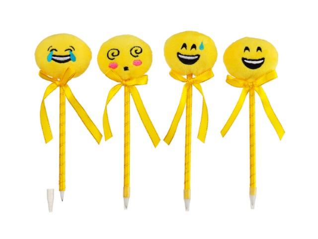 Ручка шариковая Mazari Emoji синяя 0.7мм M-7348-70