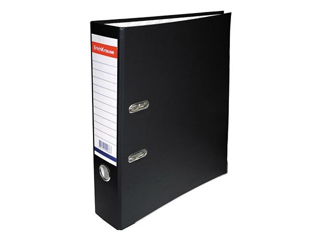 Регистратор  А4/70 EK черный с металлической окантовкой 202