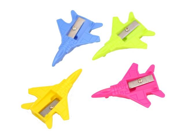 Точилка пластик Schreiber Самолет цветная S-3396