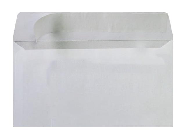 Конверт DL СК (стрип) 11*22см белый с отрывной лентой 14110