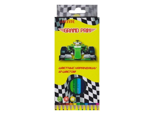 Карандаши цветные 12цв DeVente Grand Prix шестигранные 5022807
