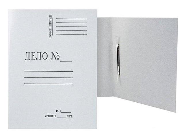 Скоросшиватель картон А4 Дело КБИ 360 г/м2 129